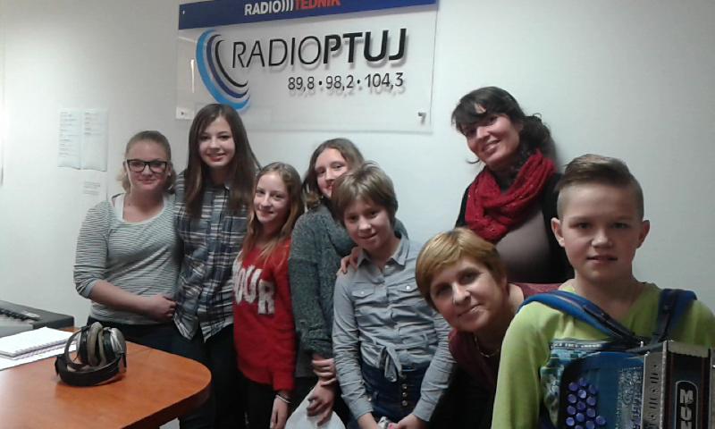 »Mladi iz Podravja« na radiu Ptuj