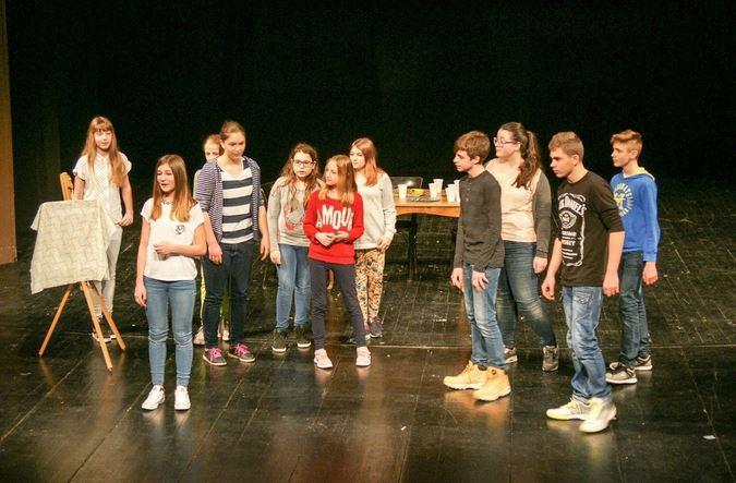 Nastop učencev na »XII. Theaterspiele« v Varaždinu