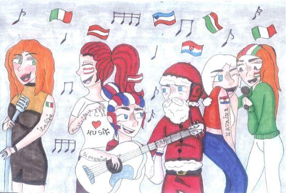 Božično-novoletni koncert in bazar v Zavrču in Cirkulanah