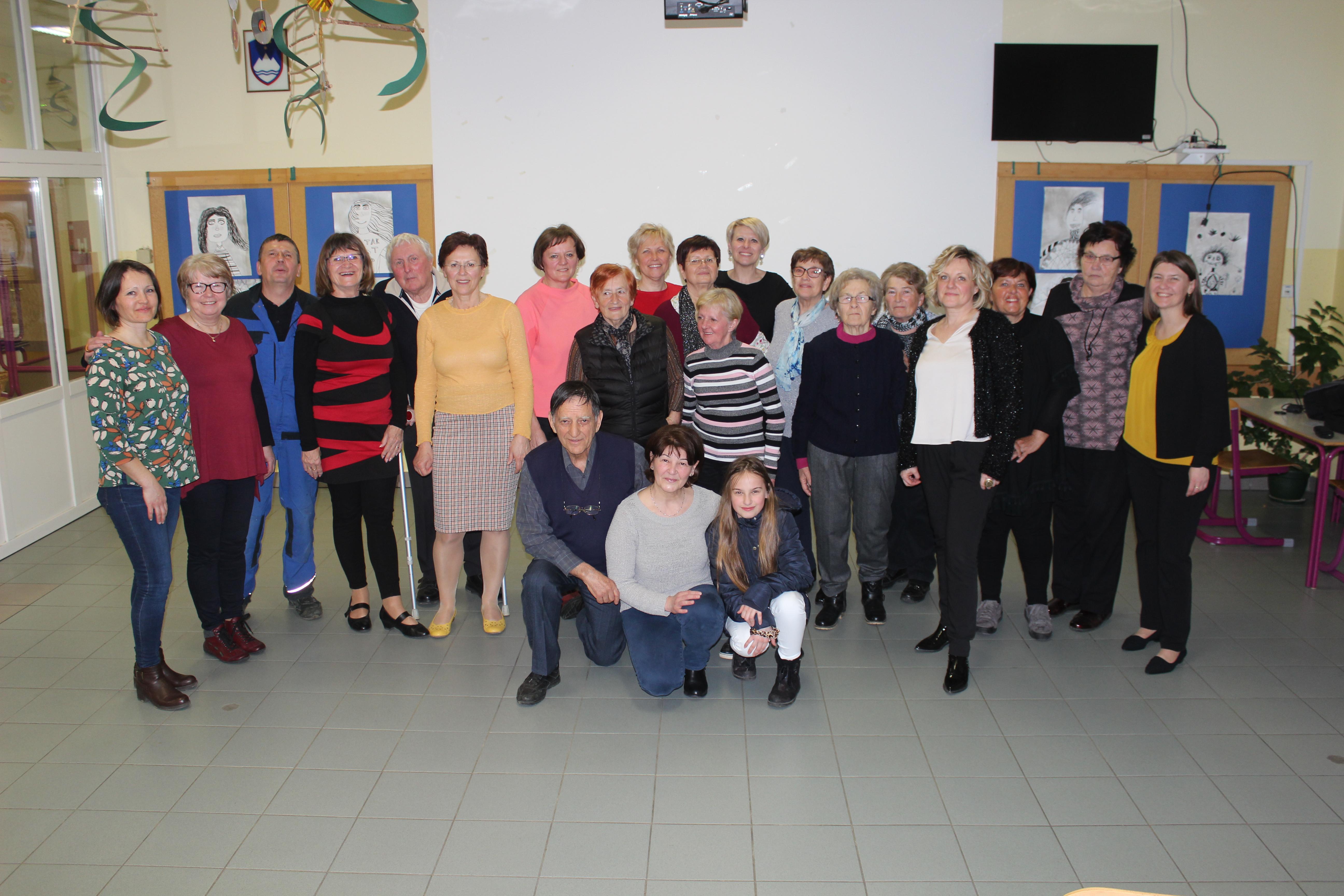 Srečanje upokojenih delavcev OŠ Cirkulane-Zavrč, 6. marca 2020, v Zavrču